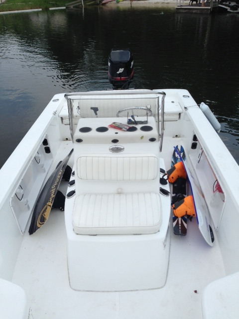 Get your wakeboards & kiteboards off the floor.  Protect your passengers and your boards.
