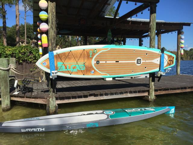 Store you Manta Racks & paddleboards and kayaks using our Dock Mounts.