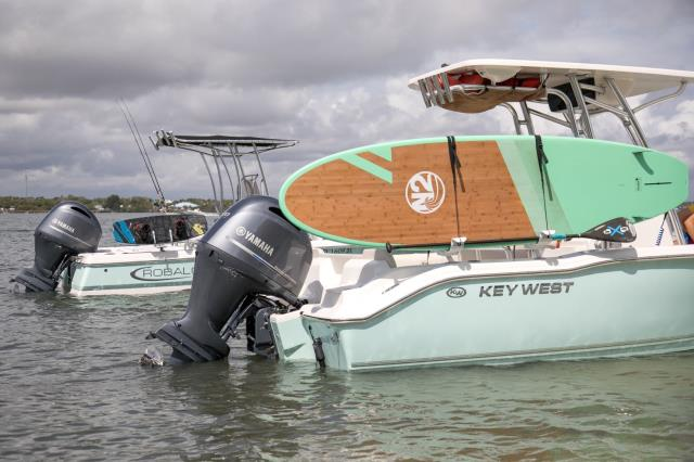 Don't stress, easily take your boards while protecting them, your boat, and most importantly your passengers!