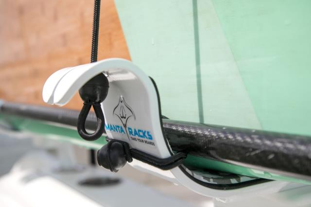 You can take your SUP's without installing anything on your boat.