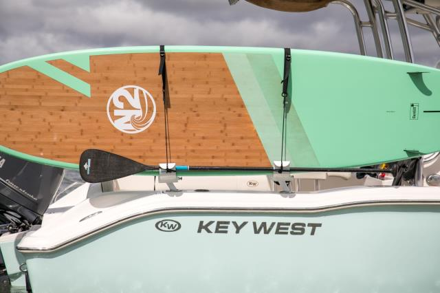 A day on the boat is never the same, now that you take your boards with you.