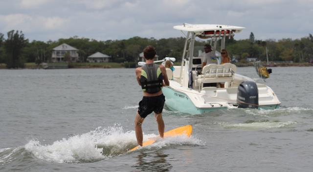Get your wakeboards, surfboards, and kneeboards off the deck of your boat.  Protect your boards, boat, and most importantly your passengers.