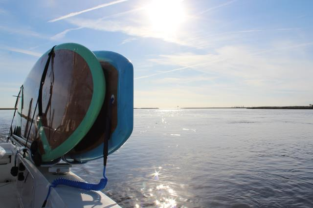 Now you can take your SUP's or kayaks without the hassle.