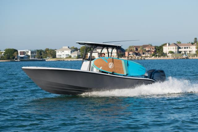 It's easy, safe, and secure to take your paddleboards on your boat with Manta Racks.