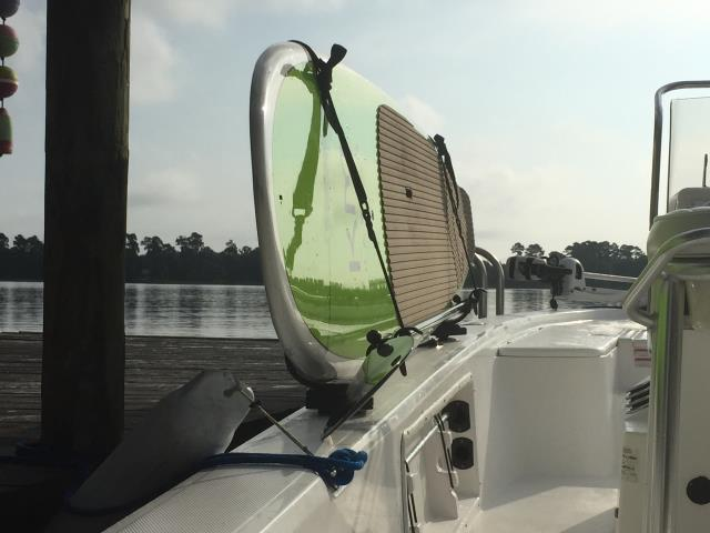 Gautier, MS - Move around your boat freely while taking your board to the sandbar.