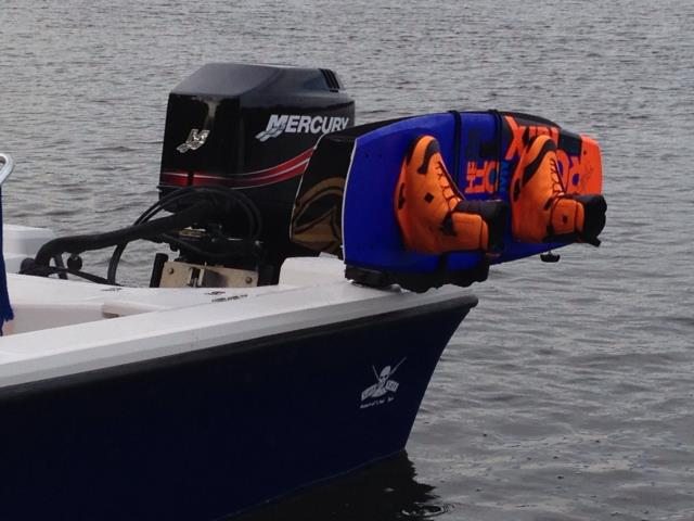 Protect your wakeboards, your boat, and most importantly your passengers with Manta Racks B3.