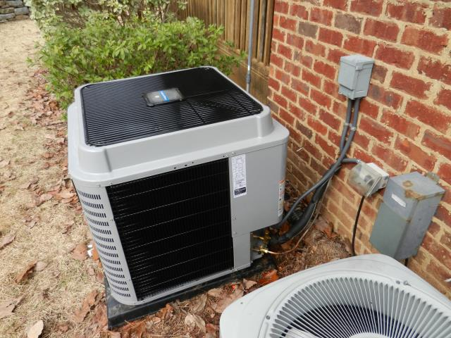 Pinson, AL - HAD A SERVICE CALL. CHECK CONDENSER COIL, CHECK DRAINAGE. FOUND LEAK IN SUCTION LINE AND OUTDOOR COIL CLOGGED. FIXED THE PROBLEMS WITH THE UNIT, CHECK EVERYTHING, SYSTEM IS RUNNING GREAT.