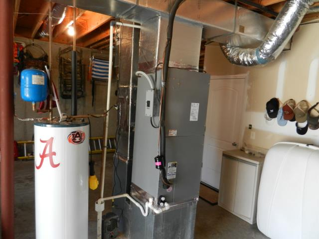 Montevallo, AL - CAME OUT AND INSTALLED A 2.5T XX A/H, MADE SURE UNIT WAS INSTALLED PROPERLY. MADE SURE WORK AREA WAS ALL CLEAN WHEN LEFT. CHECK AIR FLOW, ALSO GAS. EVERYTHING IS WORKING GREAT.