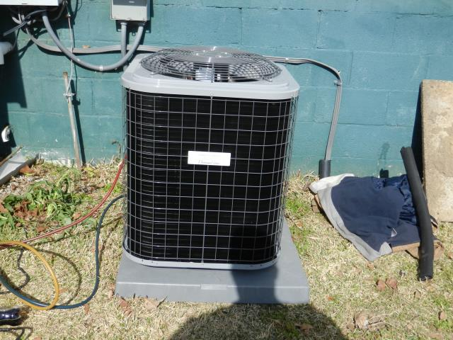 Cropwell, AL - CLEAN AND CHECK A/C. CHECK AIR FLOW, CHECK ALL ELECTRICAL CONNECTIONS, CHECK CONDENSER COILS. INSTALLED 1.5 TON HP/AH W/ T-STAT. MADE SURE EVERYTHING WAS INSTALLED PROPERLY. MADE SURE AIR WAS FLOWING GOOD. EVERYTHING IS RUNNING GREAT.