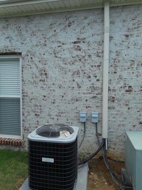 serviced and cleaned 2008 heil heat pump unit.