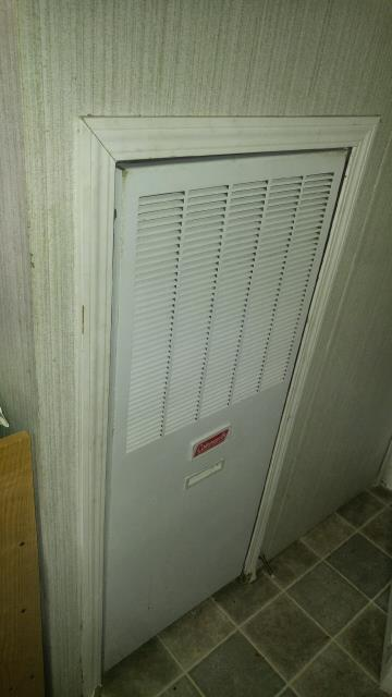 Lincoln, AL - Cleaned and serviced  2007  Coleman air conditioning unit.