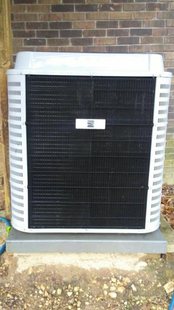 No Repair needed on 2010 heat pump with condensing unit.