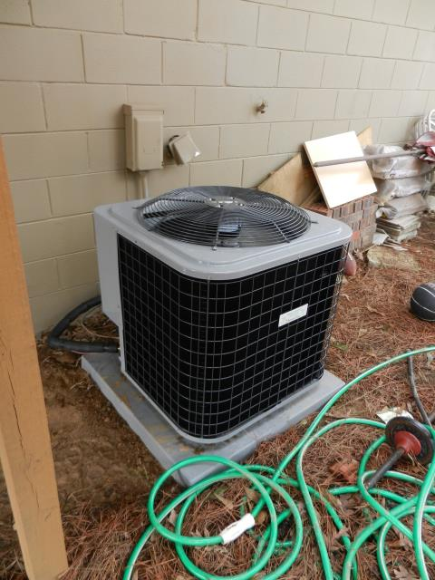 Ashville, AL - Cleaned and sanitized the Air conditioning unit with Zep con-coil cleaner Checked ducts for buildup. No repairs needed.