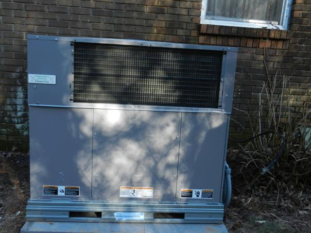 Cropwell, AL - Installed 2017 Heil air conditioning unit with Heat Pump. 12yr warranty on parts and labor.