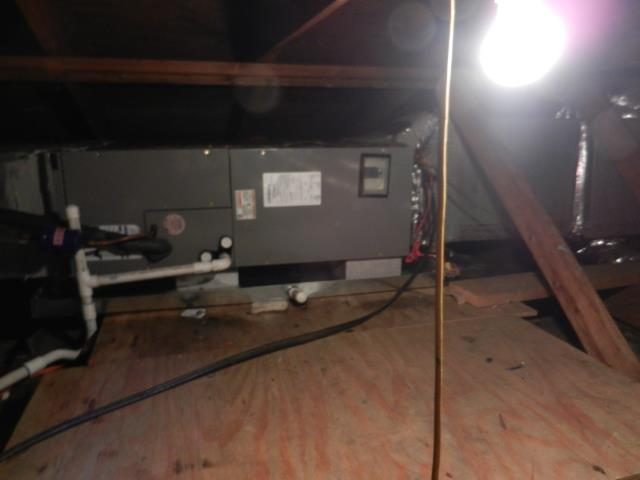 Moody, AL - Cleaned and sanitized the Heil 2014 air conditioning unit with Zep con-coil cleaner, no repairs needed.