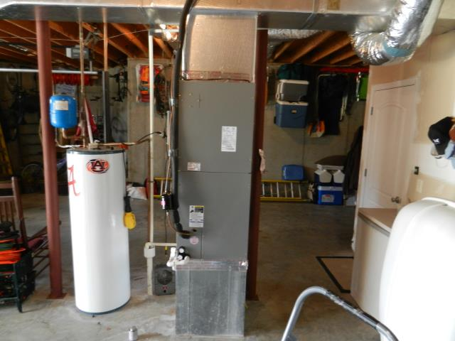 Adamsville, AL - Service work provided for 2013 air conditioning unit with Zep con-coil cleaner