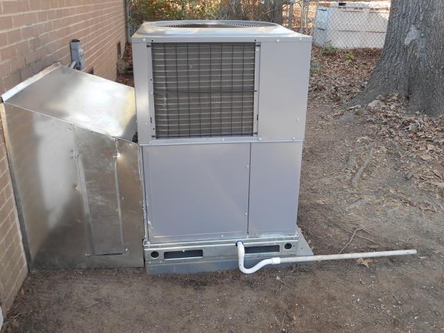 Maylene, AL - Cleaned and sanitized the 2014 Heil air conditioning unit with Zep con-coil cleaner.