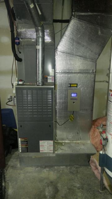 Odenville, AL - Service work performed for 2013 American Standard package unit with Zep con-coil cleaner. no repairs needed.