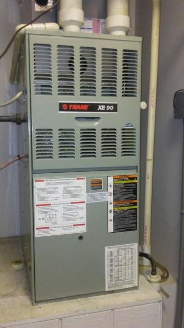 Fairfield, AL - Cleaned and sanitized the Trane 2009 air conditioning unit with Zep con-coil cleaner, no repairs needed.