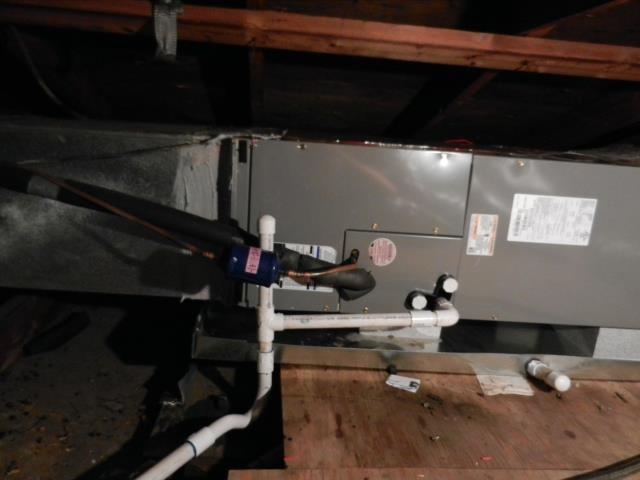 Lincoln, AL - Completed service work for the 2014 air conditioning unit with heat pump. Checked heat exchanger for cracks.