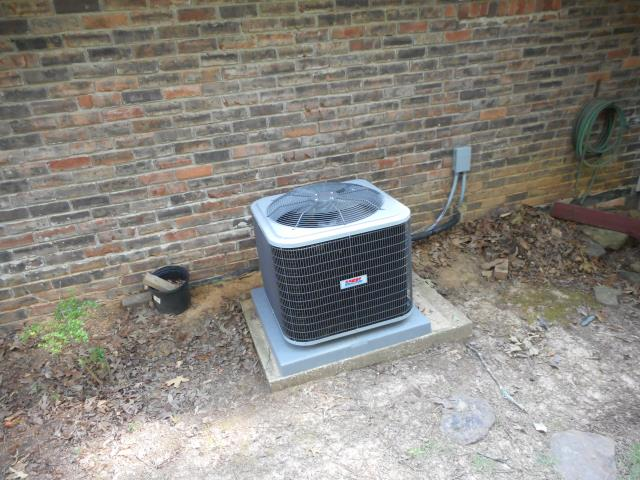Helena, AL - Checked condensation drain for build up, cleaned air filter, no repairs needed.