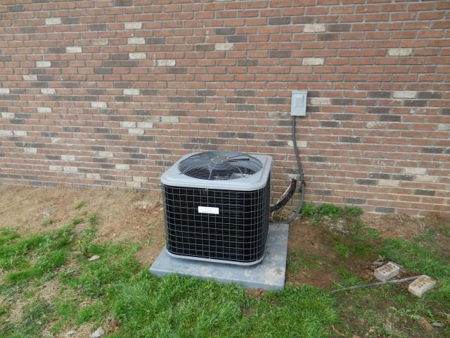 Trussville, AL - Cleaned and safety checked the 2011 Heil air conditioning unit with Zep con--coil cleaner, no repairs needed. Checked electrical connections for wear.