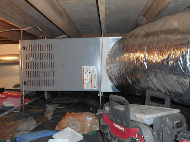Vestavia Hills, AL - Cleaned condensation drain, checked ducts for build up, checking air filters