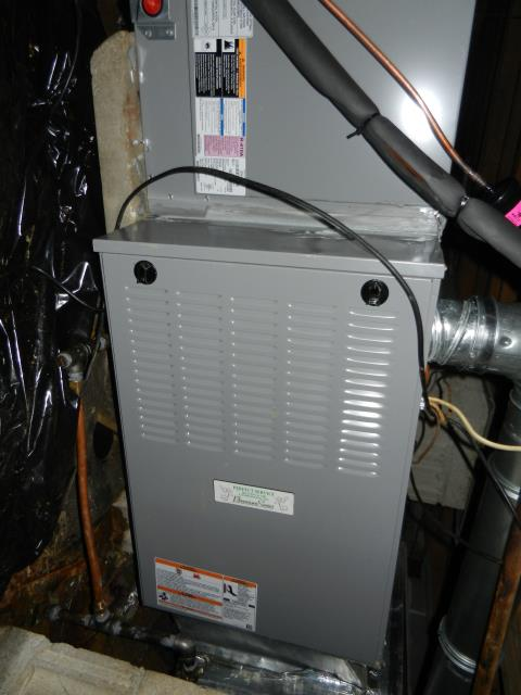 Trussville, AL - Completed seasonal service work, cleaned air filters best HVAC work in Trussville Area.