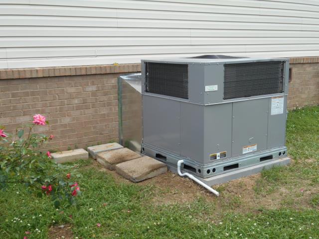 Cropwell, AL - Maintenance work completed on 2010 Trane package unit, checked fan controls, cleaned condensation drain.