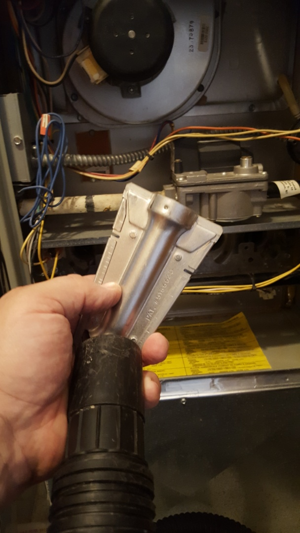 Joliet, IL - Carbon monoxide check and furnace tuneup on a American Standard furnace
