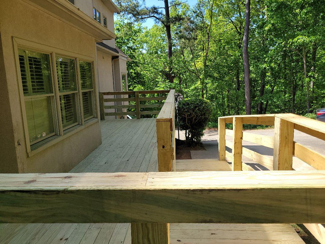 Birmingham, AL - Deck project complete