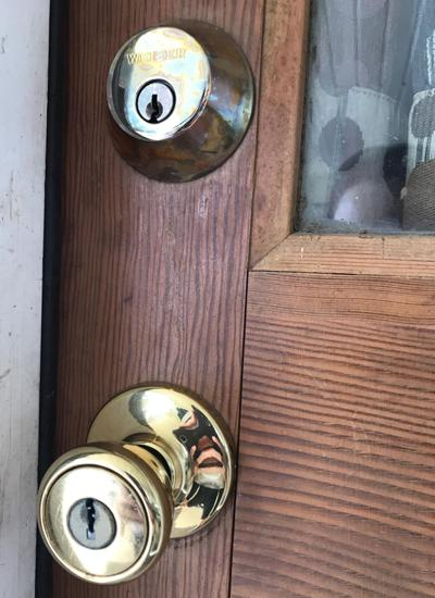 Our emergency residential locksmith just opened a locked door to a customers home in Bowie MD.