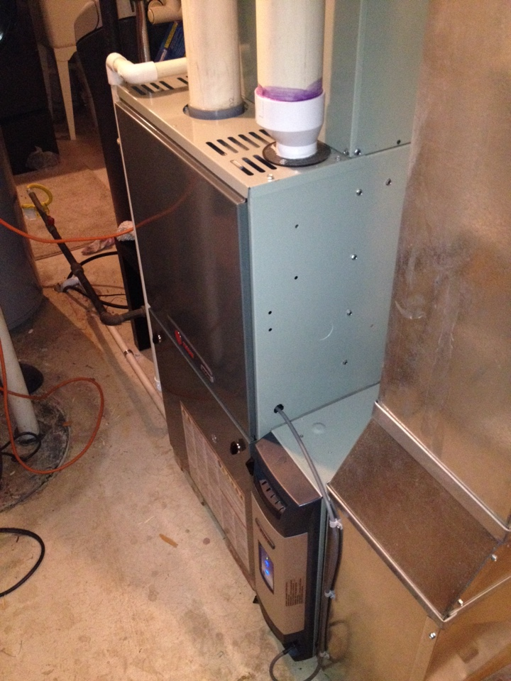 Monee, IL - Trane 95plus furnace cleaning