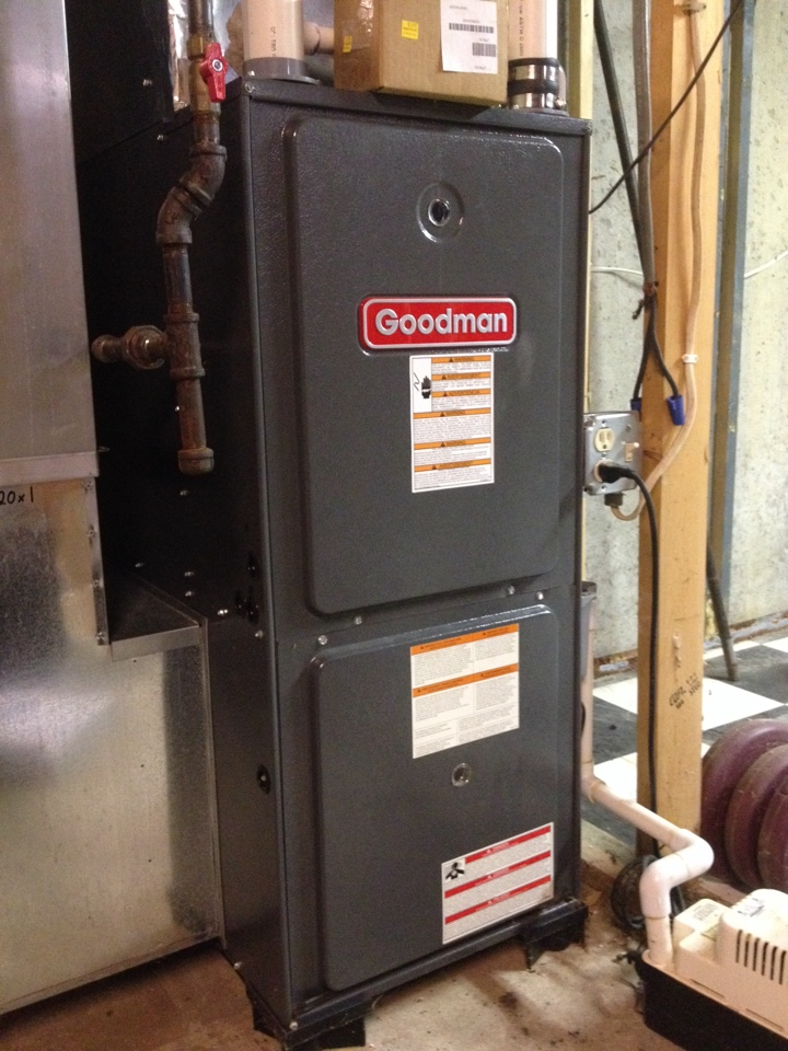 Manhattan, IL - Inducer Motor replacement on Goodman furnace
