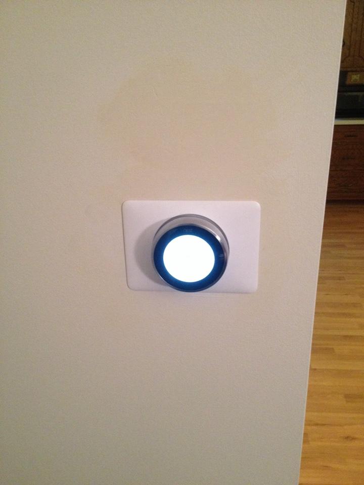 Tinley Park, IL - Installing Nest thermostat