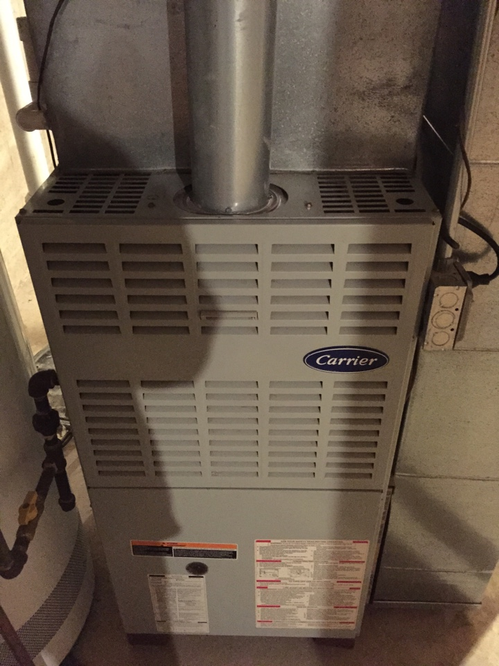 Tinley Park, IL - Carrier furnace inspection