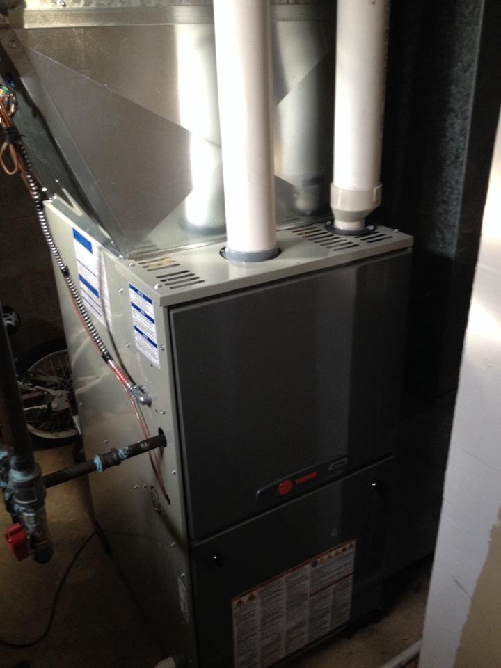 Palos Heights, IL - Trane furnace repair