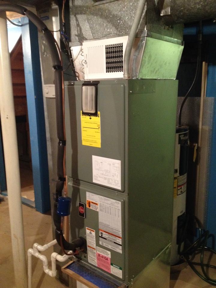 Homewood, IL - Repairing a Rheem air handler