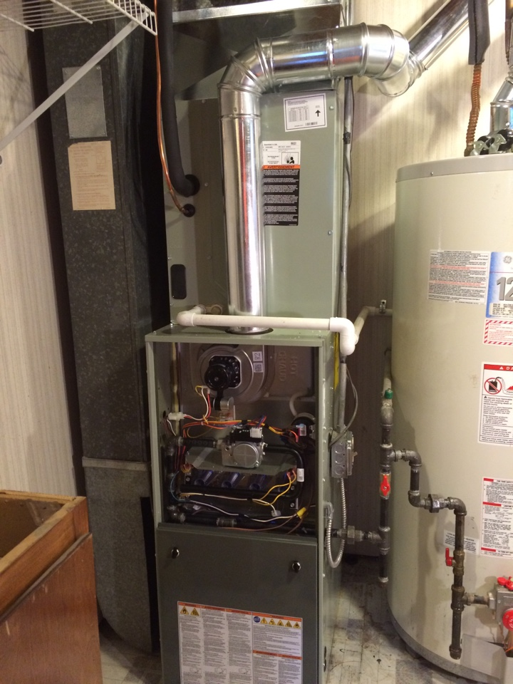 Tinley Park, IL - Trane furnace and ac residential install