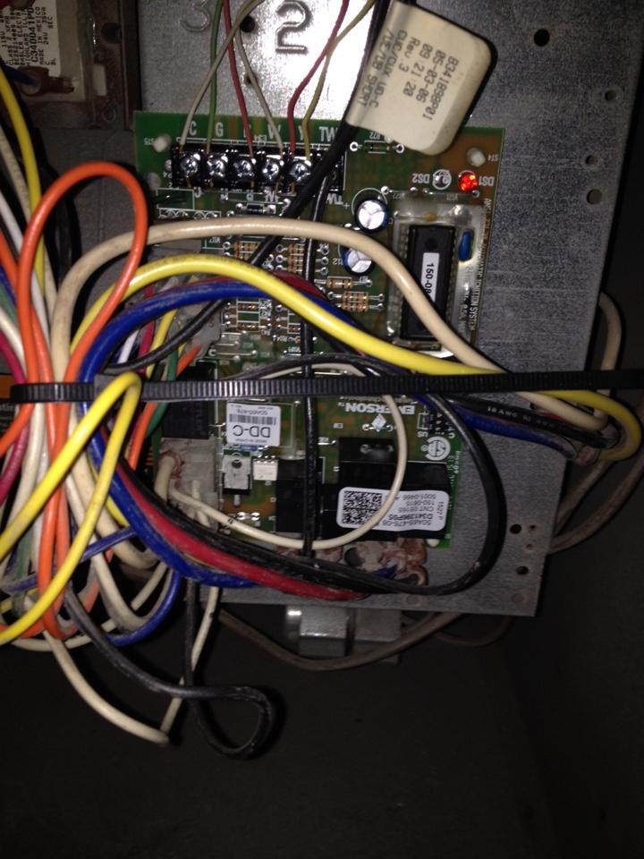 Joliet, IL - Replaced circuit board on Trane furnace
