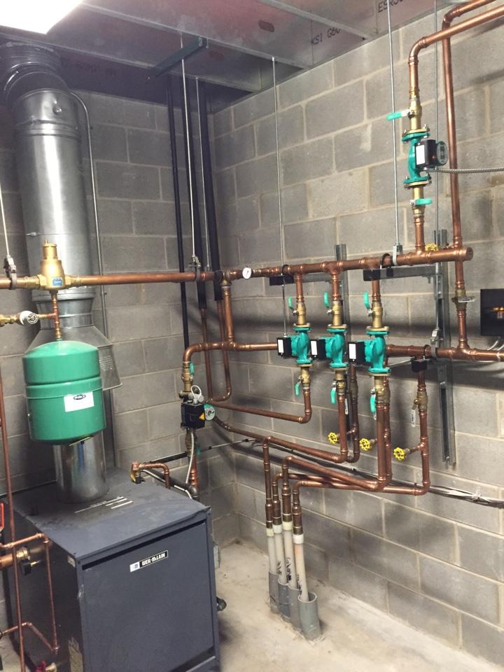 Joliet, IL - Commercial boiler installation.