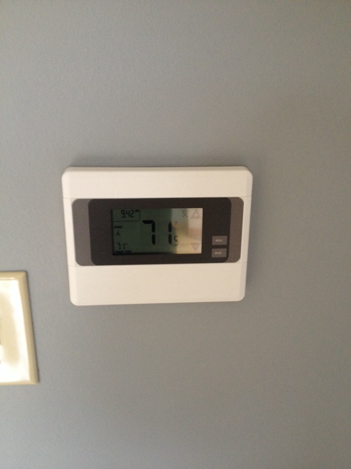 Richton Park, IL - Installed in Wifi thermostat and setup