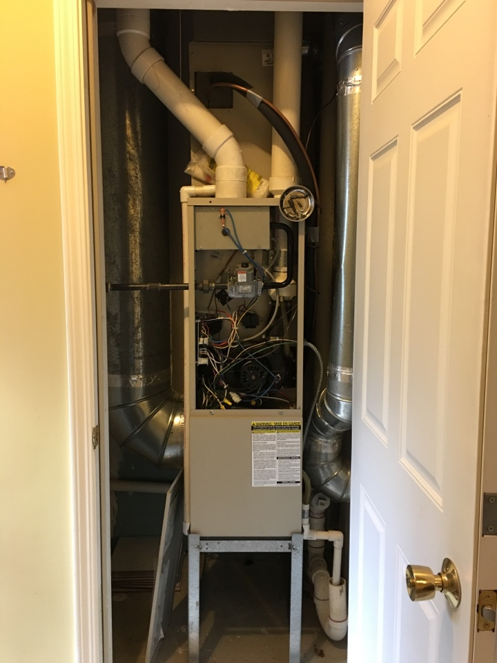 Flossmoor, IL - Clean and check for 3 furnaces (2 Trane furnaces, and a Frigidaire