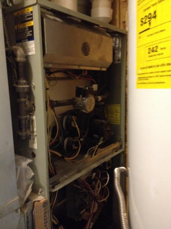 Crete, IL - Replaced flame sensor on Trane furnace