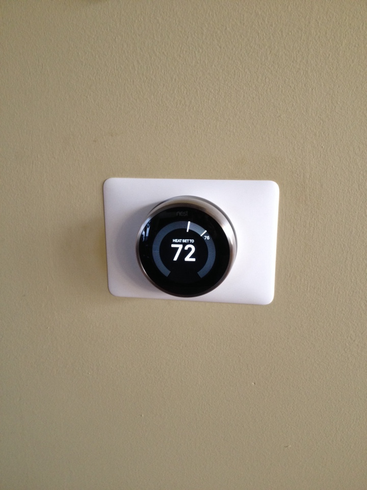 Flossmoor, IL - Installed two Nest thermostats