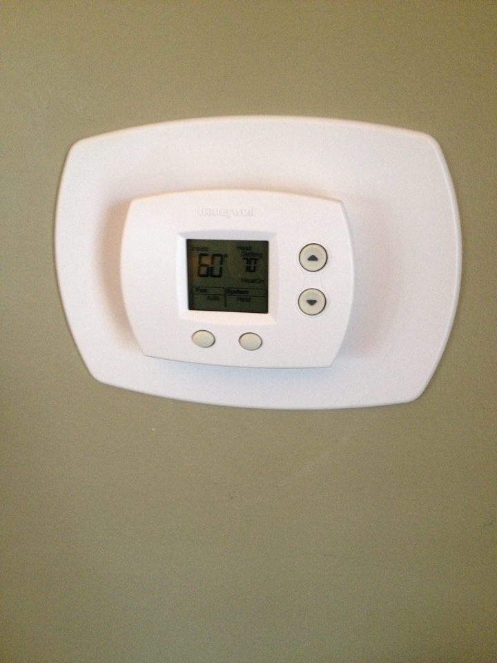Flossmoor, IL - Put new Honeywell thermostat in for the boiler