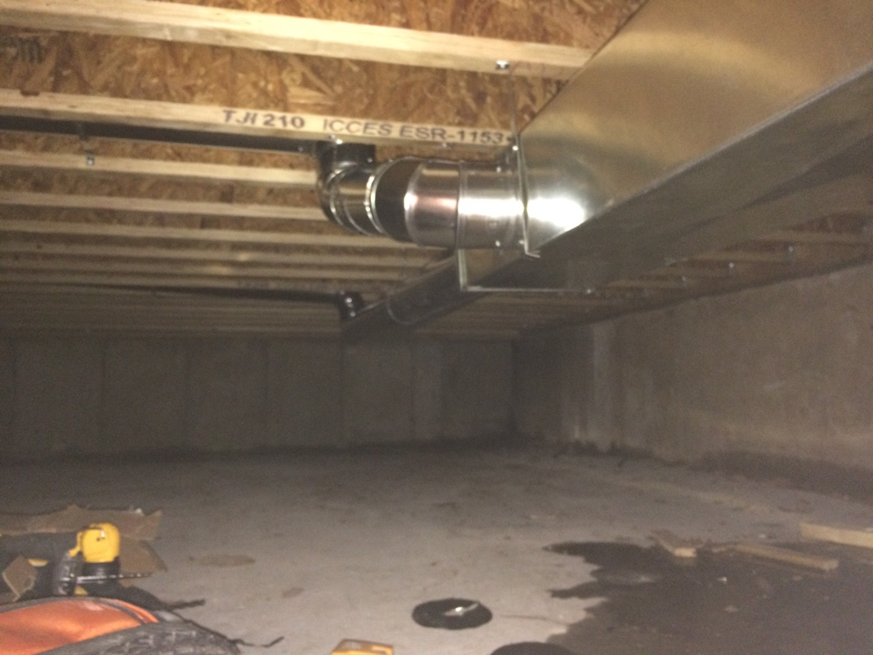 Palos Park, IL - Residential ductwork addition