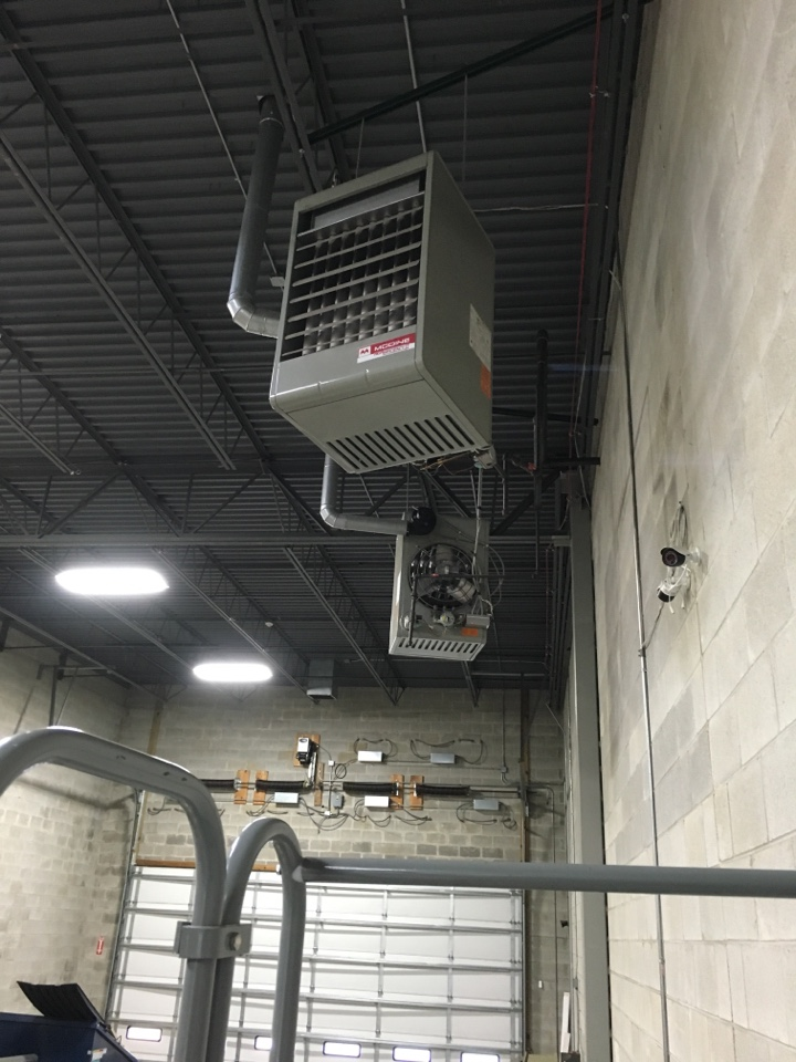 Joliet, IL - Inspected Modine hanging heaters at a commercial building