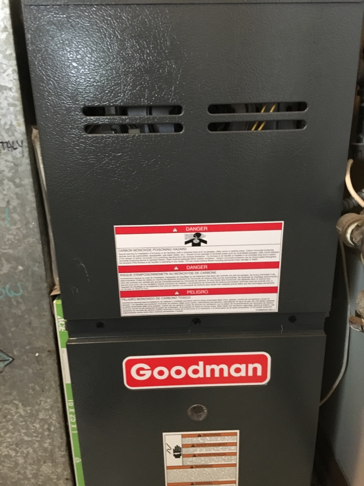 Country Club Hills, IL - Replaced pressure switch in Goodman furnace