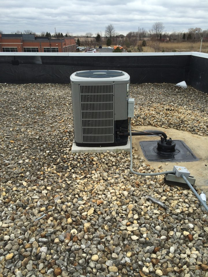 Orland Park, IL - Repairing improperly installed commercial rooftop ac